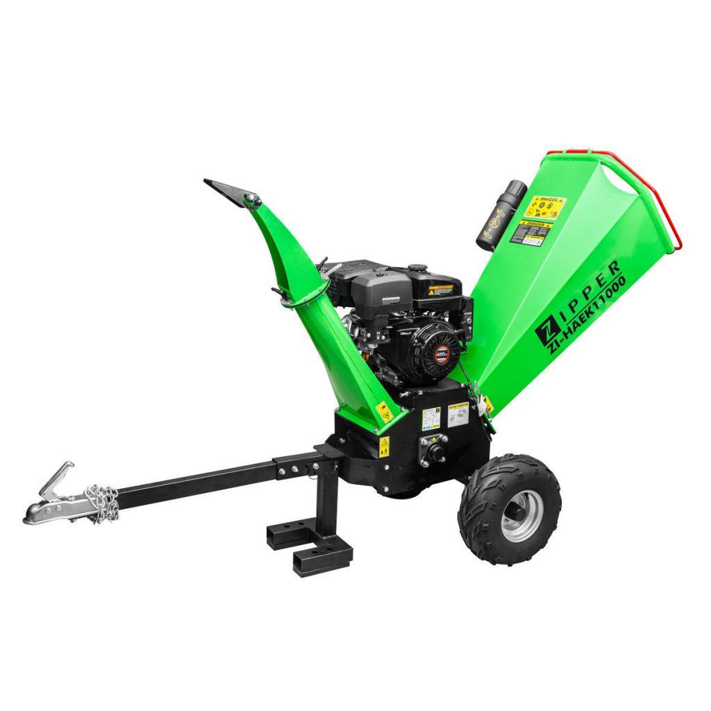 Benzin Häcksler Zipper ZI-HAEK11000 (Gartenhäcksler)