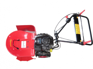 Profi Hochgrasmäher / Wiesenmäher myTools HGS1 mit einer Schnittbreite vom 64 cm, angetrieben durch einen Leistungsstarken Briggs & Stratton Motor.