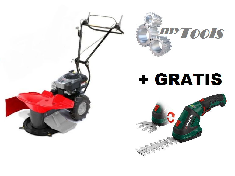 myTools Hochgrasmäher HGS1 + GRATIS Gras- Strauchschere