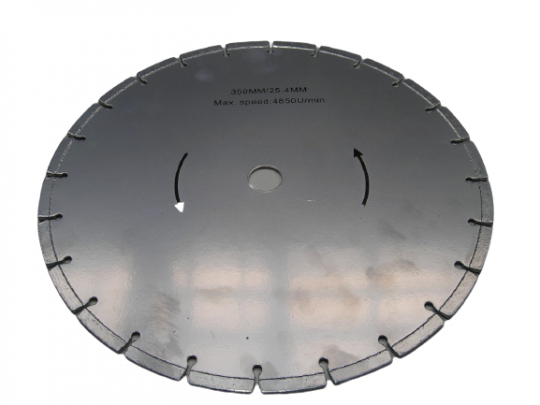 Diamanttrennscheibe 350 x 25,4 mm