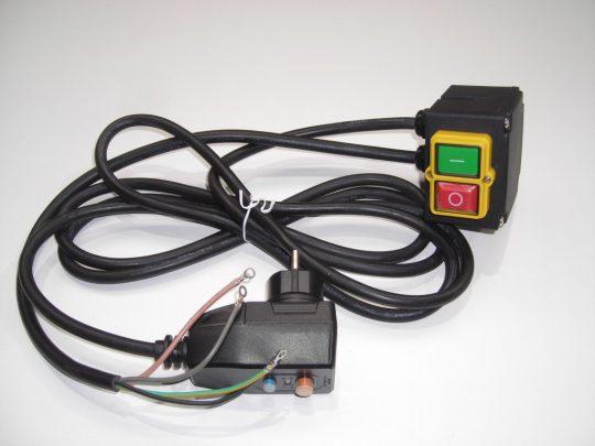 Schalter inkl. PRCD Stecker Steintrennmaschine Zipper STM350