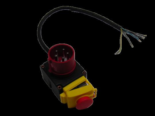 Schalter-Stecker- Kombination 400V Holzspalter Zipper