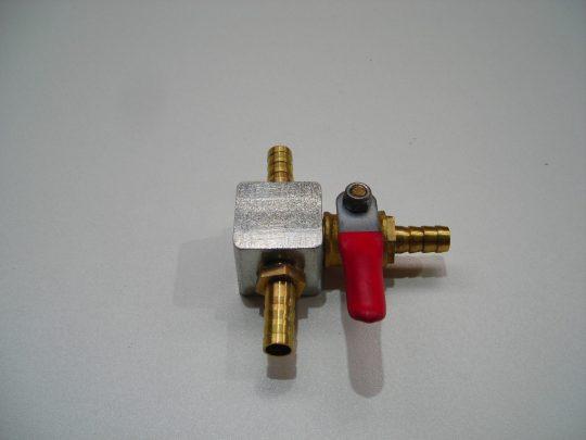 Wasserverteiler Steintrennmaschine ZIPPER STM350