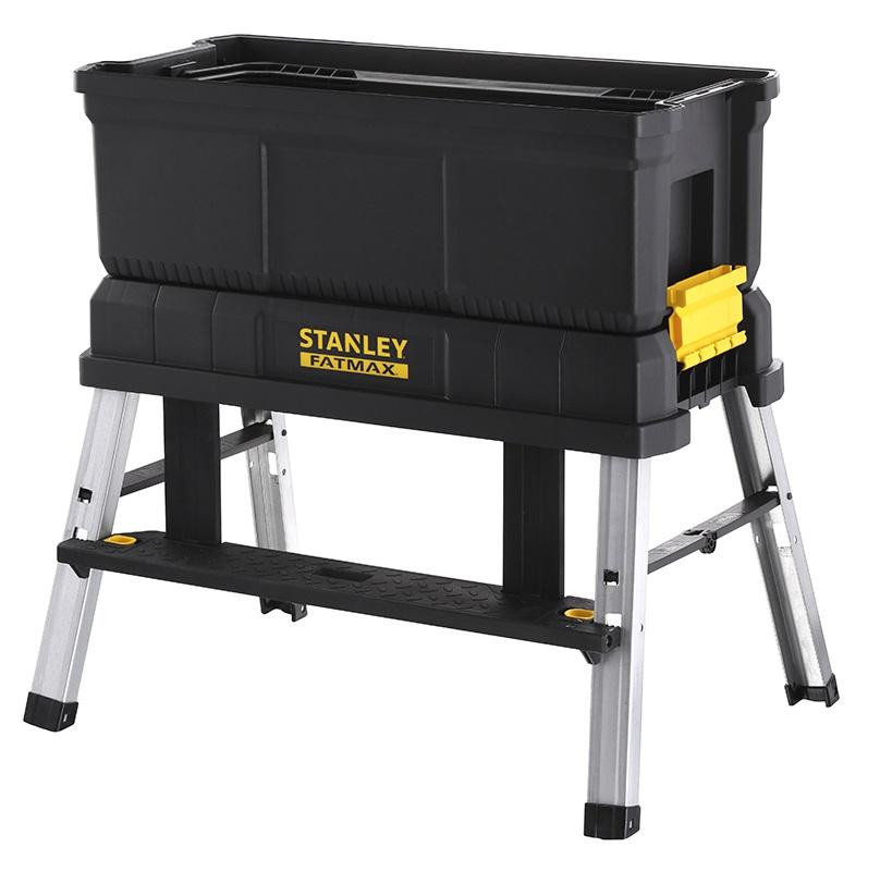 Stanley Werkzeugbox mit Tritt