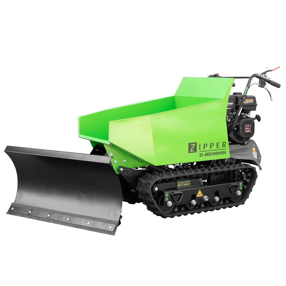 Benzin Dumper Zipper ZI-MD500HSN inkl. Schneeschild