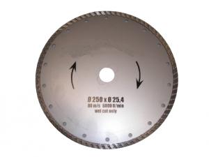 Diamanttrennscheibe Turbo 250 x 25,4 mm