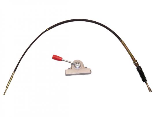 Bowdenzug Rüttelplatte Zipper ZI-RPE330G
